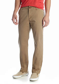 Red Camel® Straight Fit Fashion Flat Front Pants