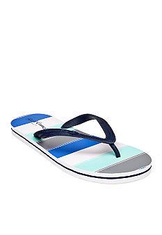 Red Camel Stripe Flip Flop