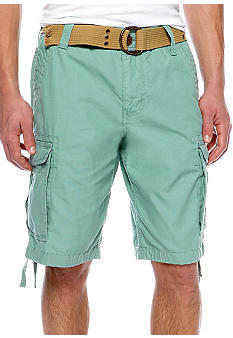 Red Camel® Solid Ripstop Cargo Shorts
