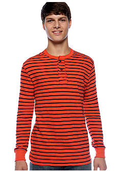 Red Camel® Stripe Henley