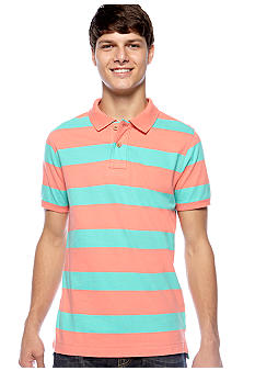 Red Camel Rugby Stripe Polo