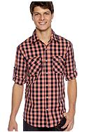 Red Camel® Bold Plaid Woven Shirt