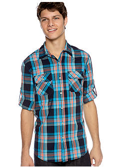 Red Camel Studio Plaid Woven Shirt