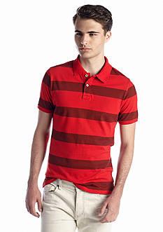 Red Camel® Herringbone Stripe Polo