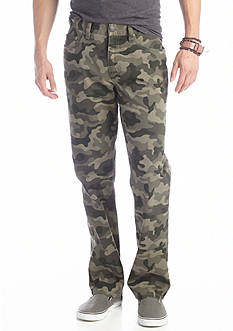 Red Camel® Straight Fit Flat Front Pants