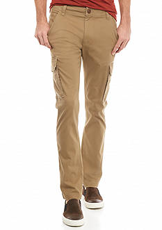 Red Camel Slim Stretch Cargo Pants