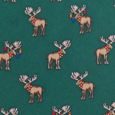 Men: Regular Sale: Hunter Tommy Hilfiger Moose Print Tie