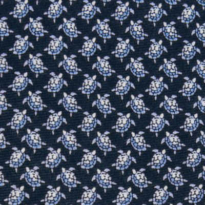 Interview Tie: Blue Tommy Hilfiger Crawling Turtles Tie