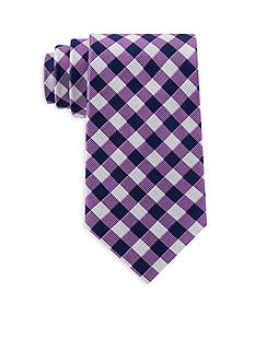 Tommy Hilfiger Textured Grid Tie