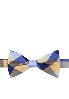 Tommy Hilfiger Pre-Tied Buffalo Tartan Bow Tie