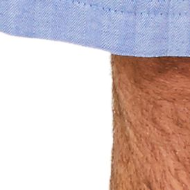 Mens Sleepwear: Bottoms: Blue Nautica Captain's Herringbone Shorts