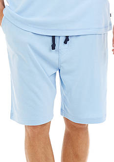 Nautica Solid Knit Sleep Shorts