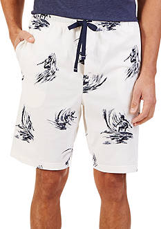 Nautica Surfer Print Knit Shorts