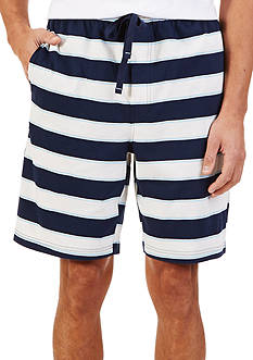 Nautica Sail Stripe Knit Shorts