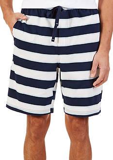 Nautica Sail Stripe Knit Shorts