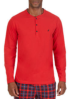 Nautica Lightwight Henley Lounge Shirt