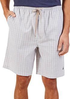Nautica Mini Plaid Lounge Shorts