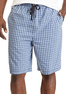 Nautica Windowpane Sleep Shorts