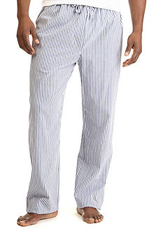 Nautica Striped Broadcloth Sleep Pants