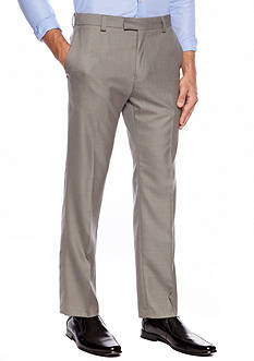 Kenneth Cole Reaction Slim Fit Flat Front Pants