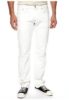 Levi's 514 Straight Fit White Twill