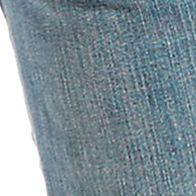 Mens Jeans: Medium Blue Levi's Red Tab 511 Slim Fit Jeans