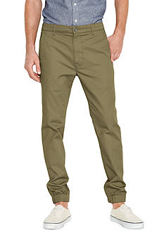 Levi's Burnt Olive Chino Jogger Pants