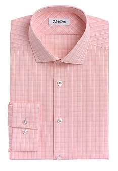 Calvin Klein Slim Fit Non-Iron Check Dress Shirt