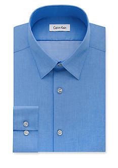 Calvin Klein Steel Non-Iron Performance Slim Fit Dress Shirt