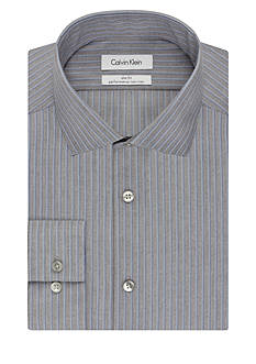 Calvin Klein Slim Dress Shirt With Single Pocket