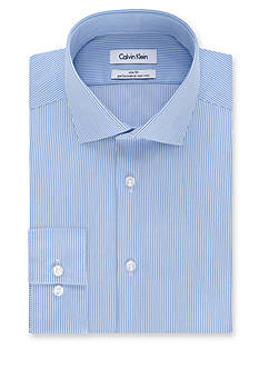 Calvin Klein Steel Non Iron Performance Slim-Fit Dress Shirt