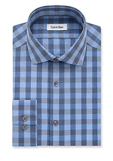 Calvin Klein Steel Non-Iron Performance Slim-Fit Dress Shirt