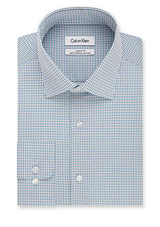 Calvin Klein Steel Non-Iron Performance Regular-Fit Dress Shirt
