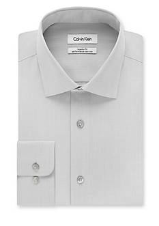 Calvin Klein Big & Tall Steel Non-Iron Performance Fit Dress Shirt