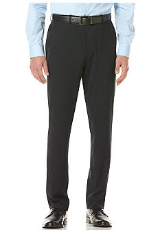 Perry Ellis Portfolio Travel Luxe Slim Fit Stripe Pants