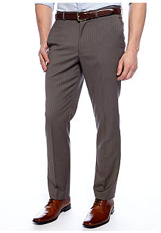 Perry Ellis Portfolio Travel Luxe Slim Fit Portfolio Pants