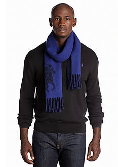 Polo Ralph Lauren Big Pony Jacquard Scarf