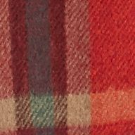 Polo Ralph Lauren Accessories: Orange Plaid Polo Ralph Lauren Brownstone Reversible Plaid Scarf