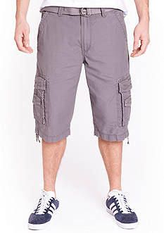 Union Bay Cordova 15-in. Belted Cargo Messenger Shorts