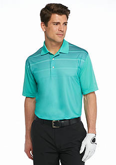 Pro Tour Short Sleeve Birdseye Stripe Airplay Polo Shirt