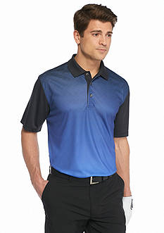 Pro Tour Short Sleeve Tonal Argyle Airplay Polo Shirt