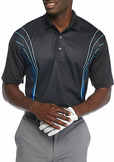 Pro Tour Short Sleeve Grad Skeletal Airplay Polo Shirt