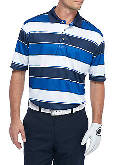 Pro Tour Short Sleeve Fashion Stripe Airplay Polo Shirt