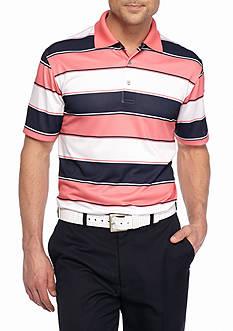 Pro Tour Short Sleeve Fashion Stripe Airplay Polo Shirt