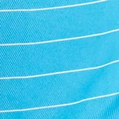 Mens Short Sleeve Polo Shirts: Methyl Blue Pro Tour Core Stripe Polo