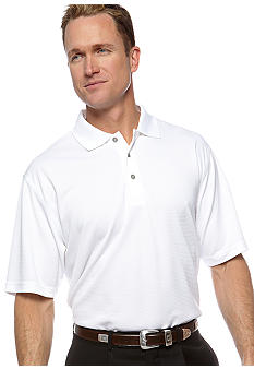 Pro Tour Horizontal Textured Knit Polo