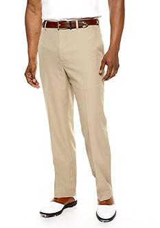 Pro Tour Comfort Tech Flat Front Wrinkle Resistant Pants