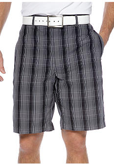 Pro Tour Plaid Tech Shorts