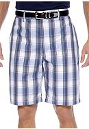 Pro Tour® Plaid Tech Shorts