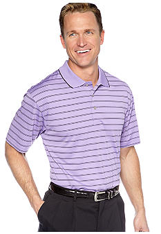 Pro Tour® Double Fine Line Stripe Polo
